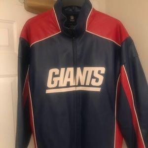 Other - Vintage New York giants leather jacket.